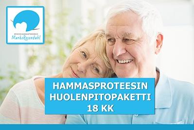 Erikoishammasteknikko Salo - hammasproteesin huolenpitopaketti 18kk_400